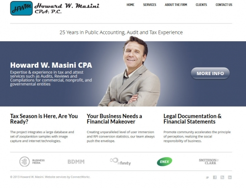 Website Launch: Howard Masini, CPA
