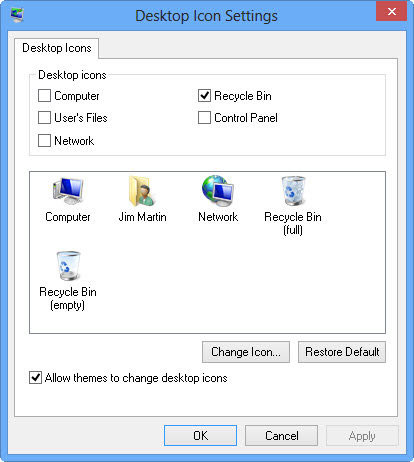 How to remove HomeGroup Icon from Your Windows 8 Desktop - WebWorkz